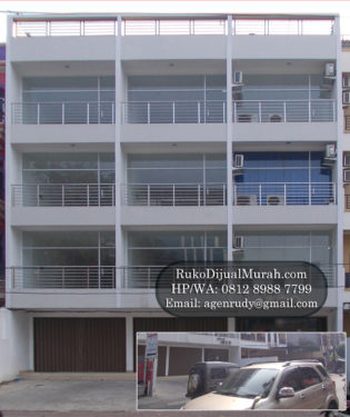 Ruko Gandeng Tanjung Duren Dijual
