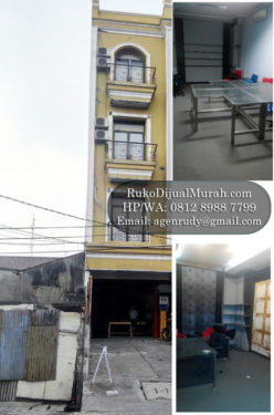 Ruko Dijual di Tanjung Duren Jakarta Barat – RK 0616