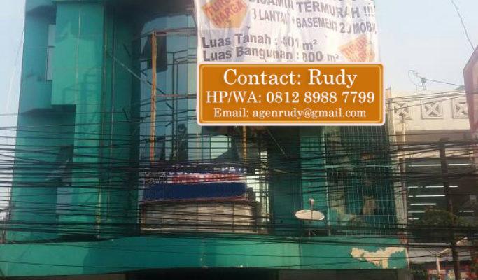 Ruko Dijual Di Tanjung Duren Raya – Jakarta Barat